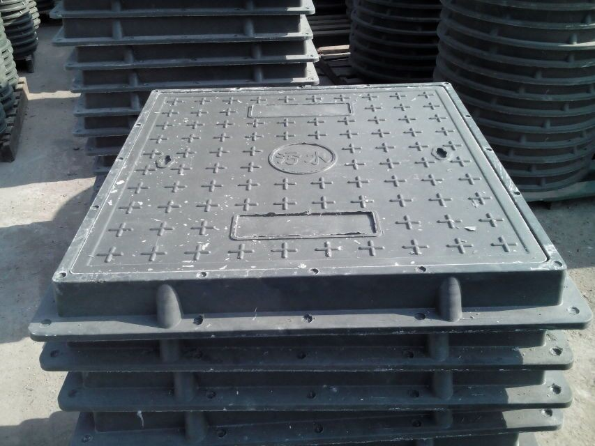 Hot sale frp smc bmc manhole cover square shape
