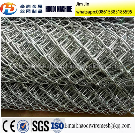 small hole size chain link fence/stadium fence/diamond wire mesh