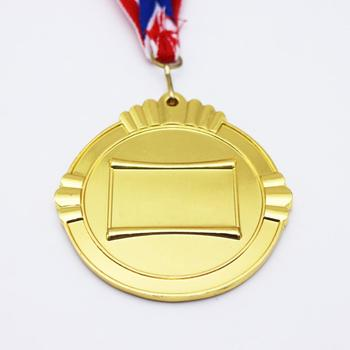 2018 cheap custom blank iron medal