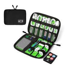 Travel Universal Cable Organizer Electronics Accessories Cases
