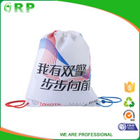Various material cloth packing good elasticity gym sack drawstring bag