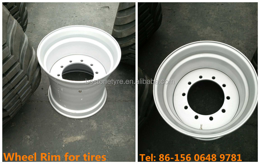 high performance tires floatation tyres for land rover 400/55-22.5 tires with rim