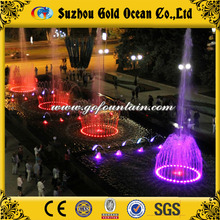 Large Water Fountains Colorful Music Fountain Speaker