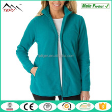 2017 Trendy House Wear Simple Design Women's Plus Size Fleece Jacket