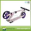 cheap pro scooters customized adults kick scooter with 200mm pu wheel