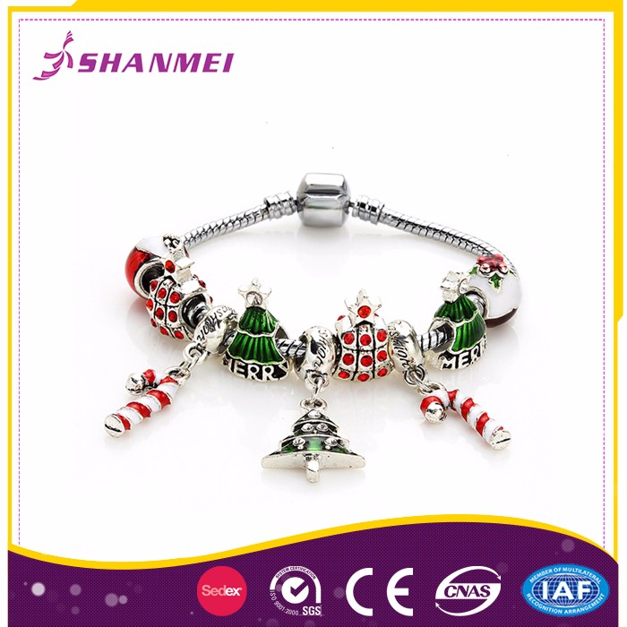 Onsite Checked Factory Girls Bangles bead Bracelets Personalized Custom