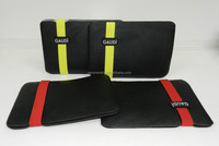 Black red style for IPad Neoprene Tablet case Tablet bag