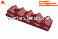 High manganese cement industry parts batten