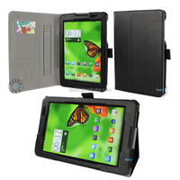 Portfolio Back Stand PU Leather Flip Case for lenovo a8-50 a5500 tablet 8'