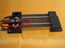 PTC insulated corrugated heater for air curtain