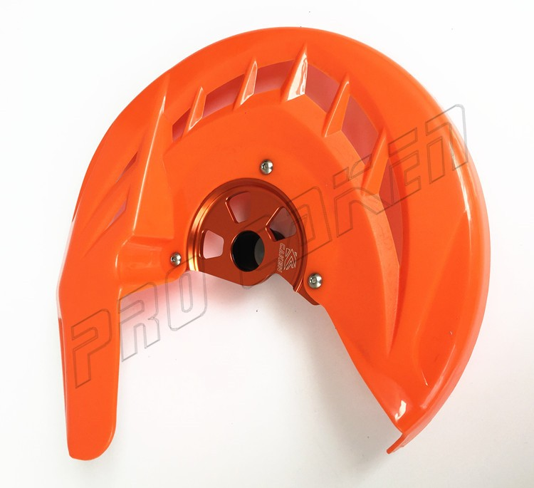 Low cost Multy-type aluminum alloy front disc guard for KTM SX250 SX450