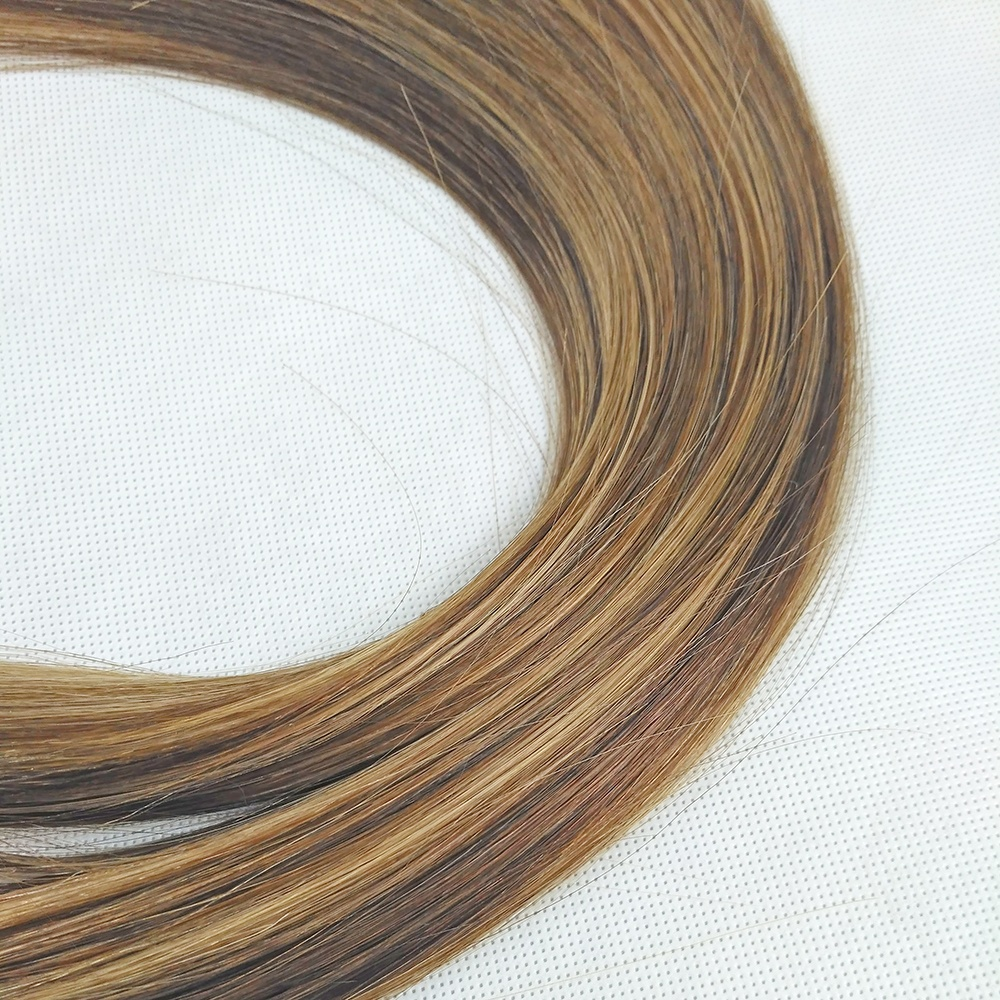 Factory Wholesale High Quality Human Hair Tangle Free Shedding Nano Bead Hair Extension