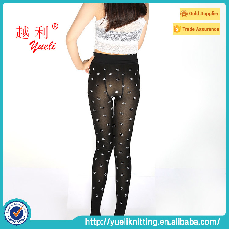 Hot custom printed tights leggings tube tights