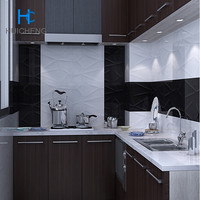 300*600 white color kitchen wall tile decorative wall tile
