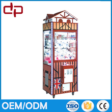 luxury crane claw coin operated prize machine/key master kids claw machine for games