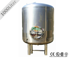 200L-20000L Glycol Jacketed or Single Wall Bright Beer Tank