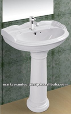 pedestal wash basin price