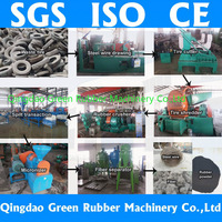 10000ton capacity full-automatic used tyre recycling machine for producing rubber powder from tires