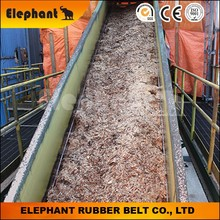 Conveyor Belt for Mix Sawdust Handling in Paper Mill