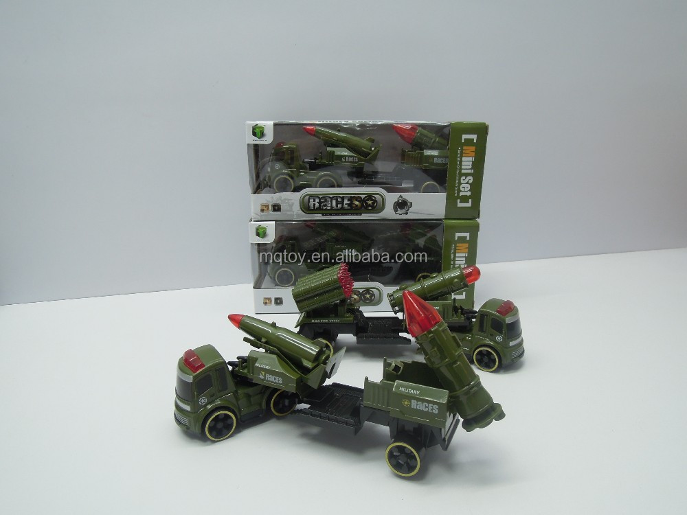 Simulation Military Inertial Car Mini Set Kids Toy