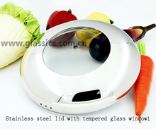 tempered glass lid glass cover and silicone lid cookware pot lid handles and knobs for fry pan sauce pan pot casserole