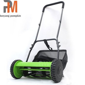 Hot sales portable lawn mower fashion design hand push lawn mower mowing machine