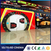 Digital Special Effect Interactive Games Mini Motion Seats 7D Cinema