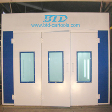 BTD inflatable spray booth / car painting room / paint booth lighting