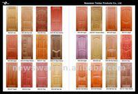 3mm Engineering Veneer Faced Moulded HDF Door Skins (NTE-HD5001)