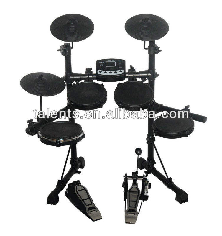 electric drum kit with LED display