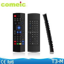 2.4G Remote Control T3/MX3 Air Mouse Wireless Keyboard + Voice for XBMC Android Mini PC TV Box