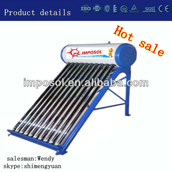 24Tubes Compact Non-Pressurized Cheap Solar Water Heater&Solar Energy System
