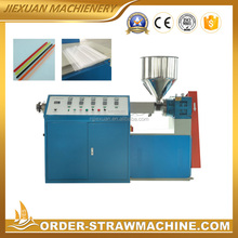 Nanjing Jiexuan pp plastic drinking straw extruder production line