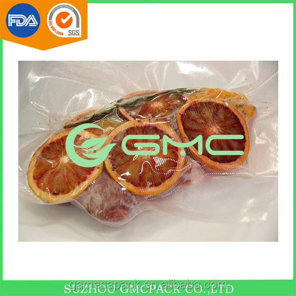 Frozen Food Vacuum Plastic Bag And Plastic Packaging Bag For Meat