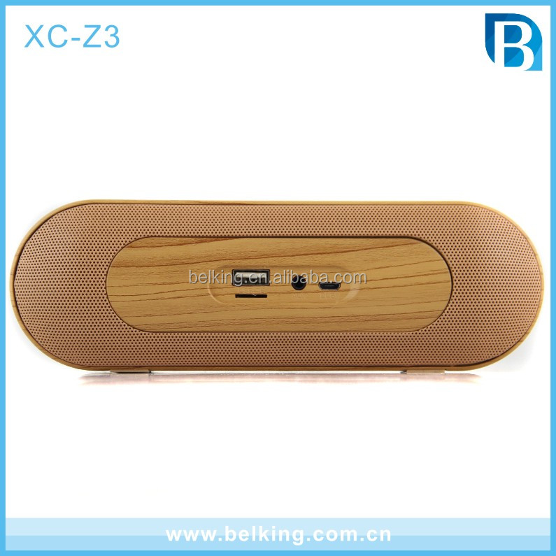 Hot sale Popular Wooden High End Quality Speaker Wireless Portable Home Theather Retro Bluetooth Speaker