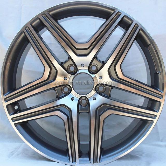 13-17 year G63 Black/Silver machined face alloy wheels replica rim