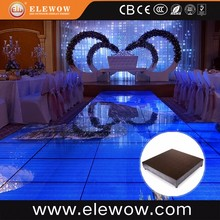 Fantastic interactive LED video floor dance 3D flooring tiles
