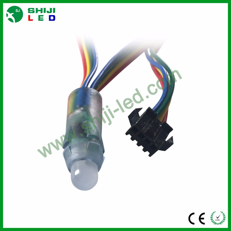 5 V gs8208 ws2811 ucs1903 ws2801 rgb led pixel 12mm led