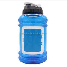 Hot sale 2.2L BPA Free Fitness water bottle gym shaker water bottle wide mouth