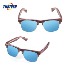 China Factory New Design Customized Logo Polarized Retro Sunglasses