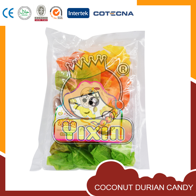 Coconut durian candy