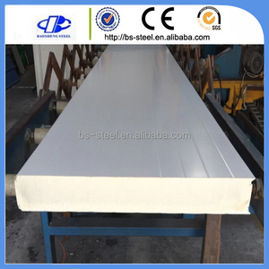 Polyurethane Cold Storage Room Warehouse PIR PU Sandwich Panel Cheap Wall Paneling