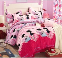 New type widely used printed Bedding Set