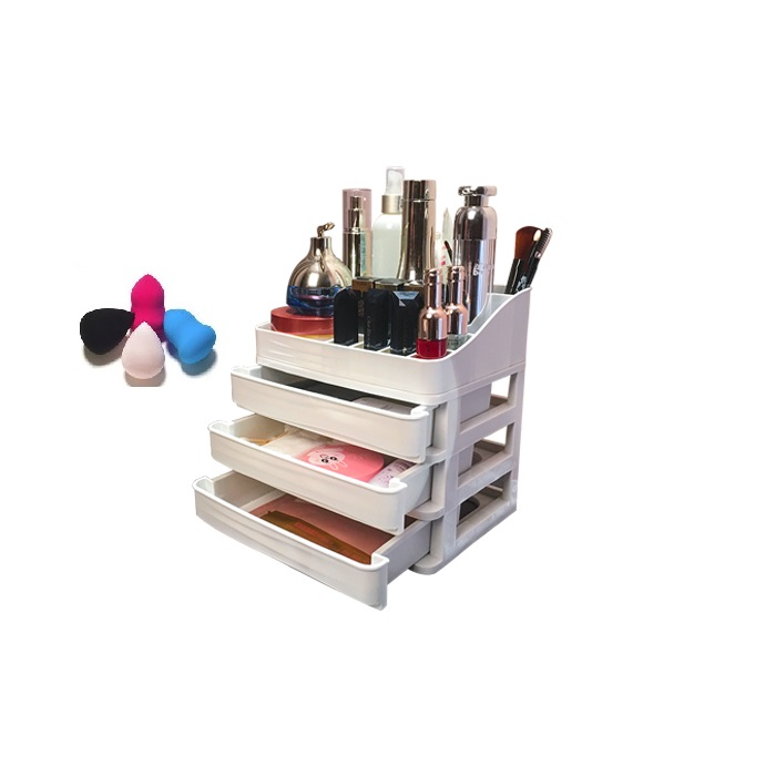 <strong>Acrylic</strong> Counter Top Cosmetics Display Unit Lipstick Organizer Box Makeup Cosmetic Organizer