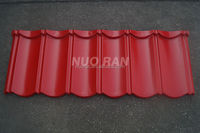 Angle edge colorful stone coated metal roofing tiles/metal corrugated tile roofing/roofing system