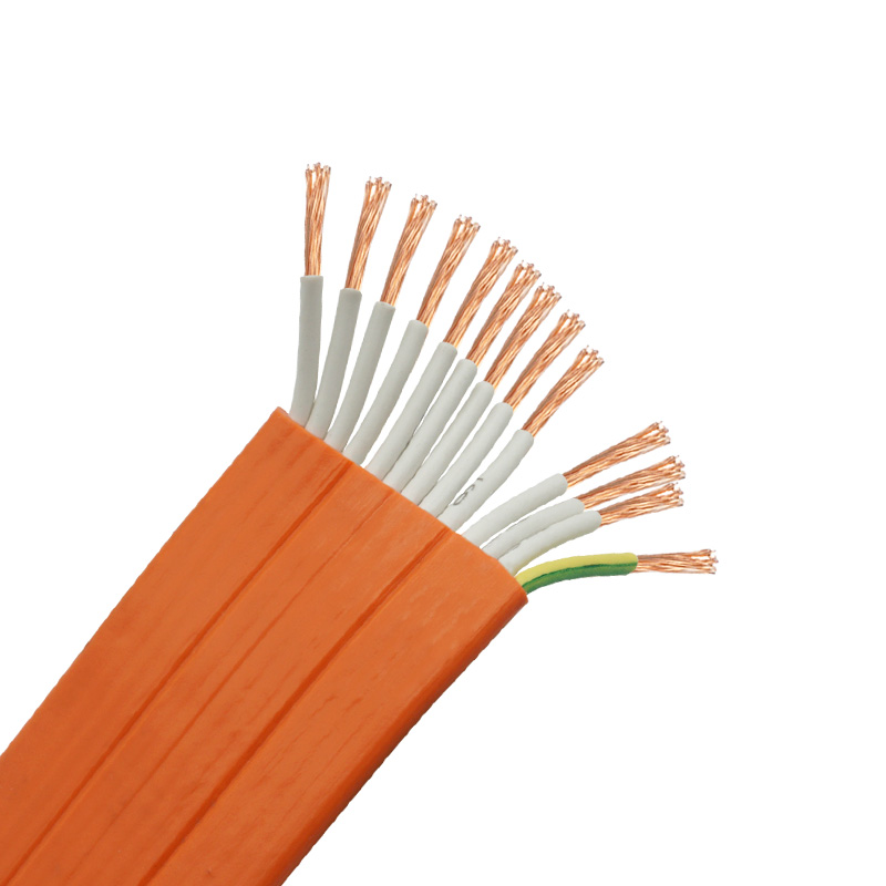 <strong>H05VVH6</strong>-<strong>F</strong> 13*2.5mm2 Multicore elevator travel cable for cctv camera