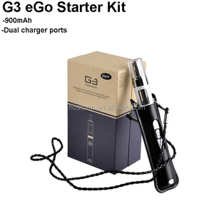 Original Greensound GS G3 Ego Starter Kit 900MAH Battery Airflow Control Tank Atomizer with USB Passthrough Dual Charger Ports