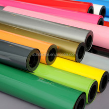 flex pu heat transfer vinyl easy weed heat transfer vinyl film for faux leather textiles
