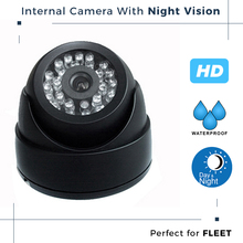 Night Vision Vehicle Dome Camera Bus DVR CCTV Internal Camera System with Waterproof IP68