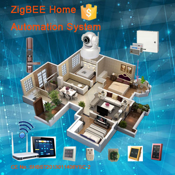 wulian zigbee wifi home alarm system domotics x10 smart home control system home automation